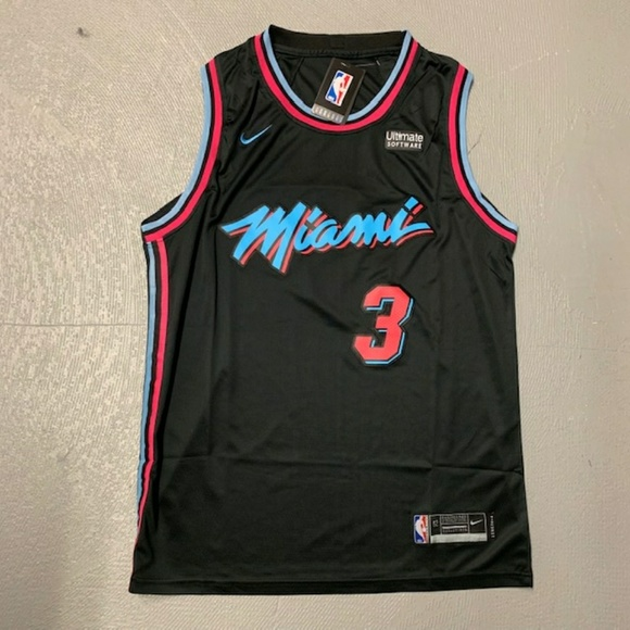 the latest a95c2 80d33 Dwyane Wade Miami Heat City Edition Jersey NWT